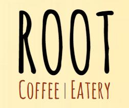 """Root"" cafe logo"