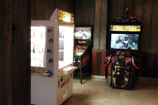 Arcade games will be featured in multiple areas of Highline