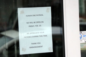 Hunan One temporarily closed in Clarendon