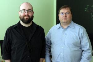 Patdek's Robert Melton, left, and Jay Guiliano