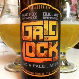 DuClaw and Mad Fox Gridlock
