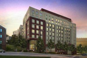 Columbia Hills apartments rendering (image via APAH)