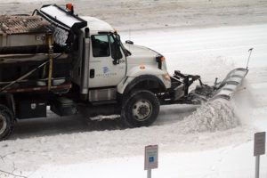 Arlington County snow plow