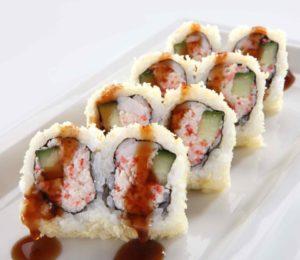 RA Sushi roll (photo via Facebook)