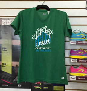 Crystal City 5K Friday race t-shirt