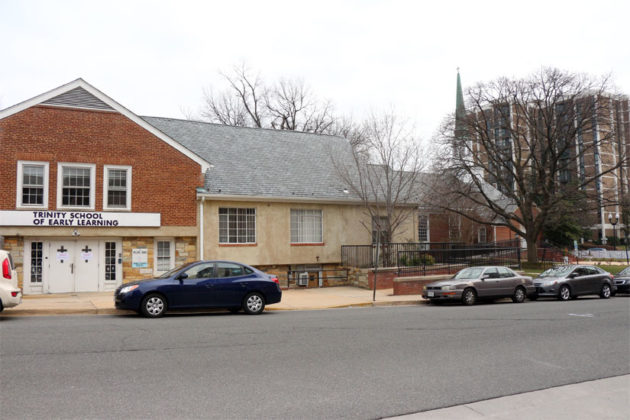 The Trinity Episcopal Church preschool at 2217 Columbia Pike