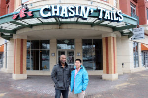 Chasin' Tails co-owners Terrell Wilbourn and Au Dang