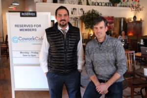 Cowork Cafe co-founders Ramzy Azar and David James