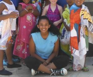 Summer camp volunteer (photo via Arlington County)