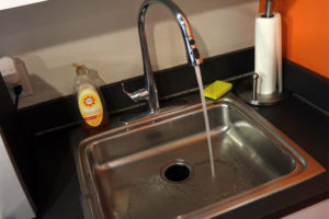 Kitchen sink and tap water (file photo)