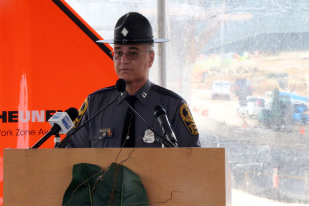 Virginia State Police Capt. James De Ford talks about work zone safety