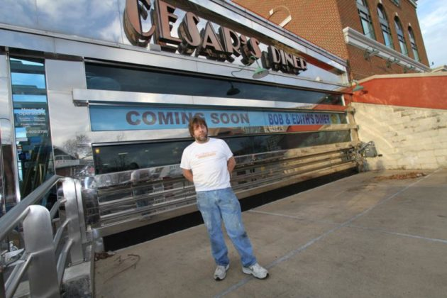 Bob and Edith's Diner owner Greg Bolton outside his new Crystal City location