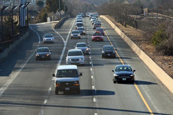 Traffic on I-66