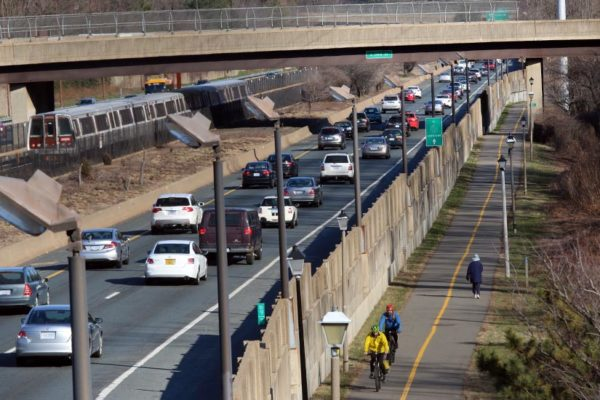 Multimodal transportation along I