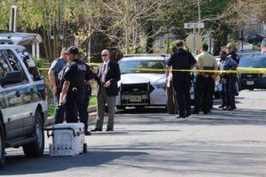Homicide investigation in Aurora Highlands