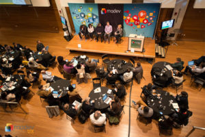 The MoDev UX conference, held at Artisphere last year (photo courtesy MoDev)