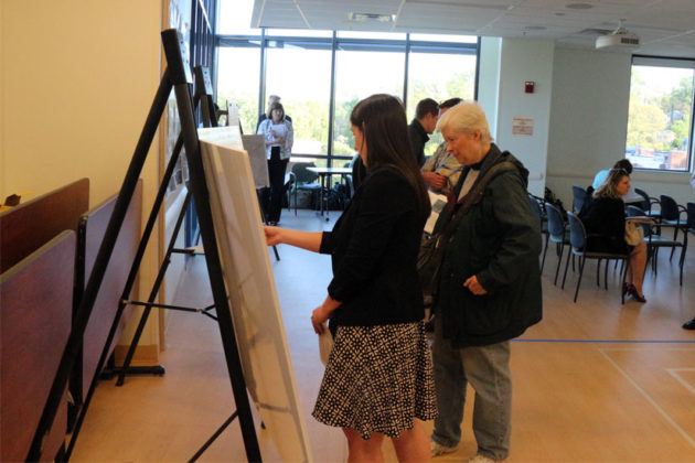 County staff note resident questions for the Columbia Pike Transit Stations