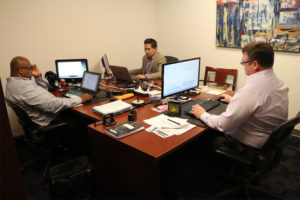 Worden Tech Solution's office at Eastern Foundry in Crystal City