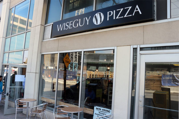Wiseguy NY Pizza at 1735 N. Lynn Street