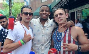 2014 All American Bar Crawl in Clarendon (photo via Facebook/Project DC Events)