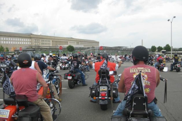 Rolling Thunder 2015 motorcycle rally at the Pentagon (Flickr pool photo by Brian Irwin)