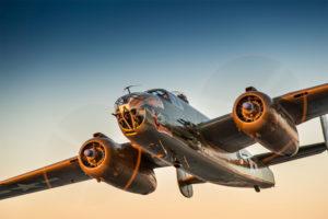 The North American B-25 Mitchell (photo via Arsenal of Democracy)