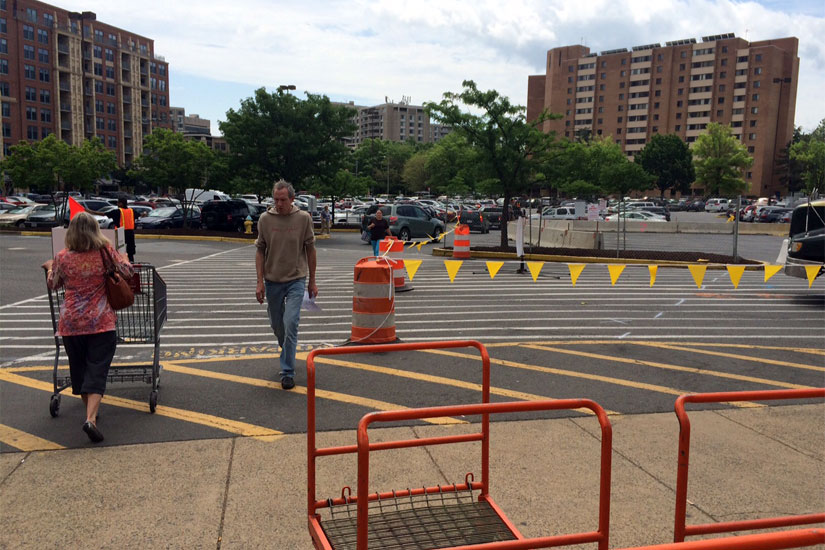 Pentagon City Parking