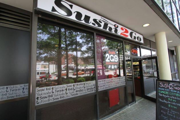 Exterior of Sushi 2Go