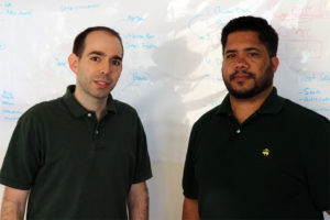 Luvozo co-founders David Pietrocola, left, and Jude Kessler