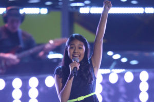 Samantha Rios (photo via La Voz Kids)