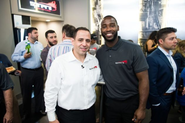 SpinFire Pizza co-owners Fouad Qreitem and Pierre Garçon (Photo credit Joy Asico)