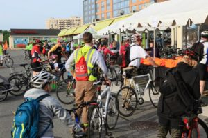 Bike to Work Day 2015 (photo via Bike Arlington/Facebook)