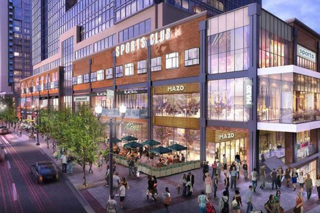 Ballston Quarter rendering
