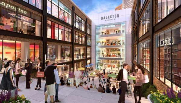 """Ballston Quarter"" mall rendering"