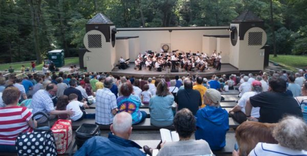 """Pops for Pets"" concert at Lubber Run Amphitheater (Flickr pool photo by John Sonderman)"
