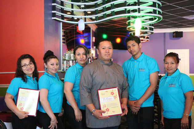 Head chef Leo Medrano and The Corner Tex Mix staff