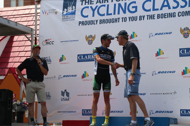 Ben Frederick won the Most Heroic jersey for the Clarendon Cup.