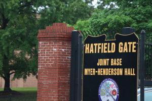 Hatfield Gate at Joint Base Myers-Henderson Hall