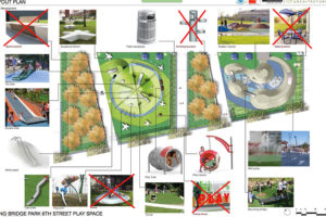 Conceptual design of Long Bridge Park playground