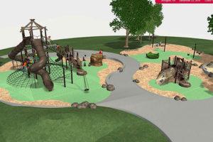 Tyrol Hills Park playground conceptual design