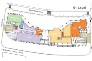 Church layout via Arlington County