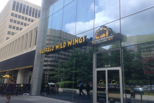 Catch every game and sports with great food at your fingertips at Buffalo Wild Wings