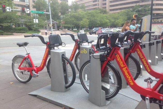 Explore Crystal City and beyond with the wind in your hair on Capital Bikeshare