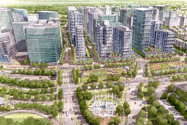 Rosslyn Sector Plan visualization
