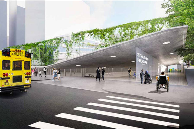 Stratford entrance rendering (Via APS)