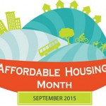 Affordable Housing Month logo (via Arlington County)