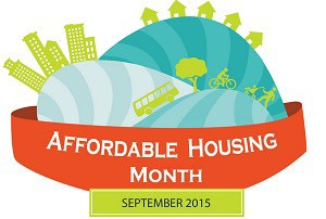Affordable Housing Month logo (via Arlington County)
