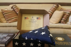 Sen. Tim Kaine's gift to the American Legion Post 139 (via Tim Kaine's Facebook)