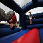 Fall fest bounce house