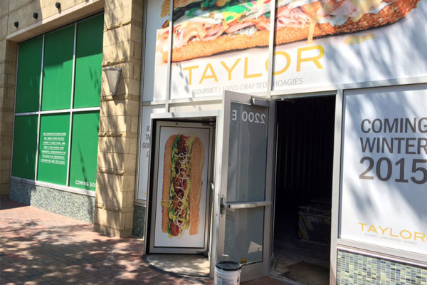 New Taylor Gourmet and Sweetgreen locations in Crystal City
